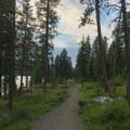 The Peninsula Trail.- Ponderosa State Park