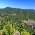 View to the east of Stack Creek Dome.- Henline Mountain