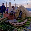 Uros Island is constructed from reeds.- The Floating Island of Uros