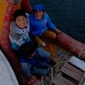 Uros Island locals.- The Floating Island of Uros