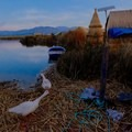 Uros Island was constructed several hundred years ago.- The Floating Island of Uros