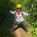 Laura hamming it up.- The Bold Betties: Idaho Trails Association Women's-Only Trail Maintenance