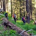 Back to the trailhead.- The Bold Betties: Idaho Trails Association Women's-Only Trail Maintenance