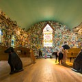 The nave of Dog Chapel.- Dog Mountain + Dog Chapel