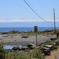 View to the Olympic Range from the Esquimalt Lagoon Migratory Bird Sanctuary.- Esquimalt Lagoon Migratory Bird Sanctuary