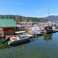 Rental facilities at Brentwood Bay.- Brentwood Bay
