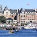 The Empress Hotel on Victoria Harbour.- Victoria Harbour