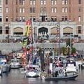 Celebrating Canada Day in Victoria Harbour.- Victoria Harbour