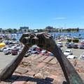 View over Victoria Harbour.- Victoria Harbour