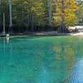 Beautiful colors at Morrison Springs.- Morrison Springs