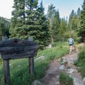 Entering the James Peak Wilderness.- Forest Lakes + Needle Eye Tunnel