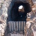 Inside Needle Eye Tunnel.- Forest Lakes + Needle Eye Tunnel