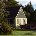 Fundy Highlands Chalets are located in Fundy National Park.- Fundy Highlands Inn and Chalets