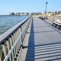 Some walkways for fishing or crabbing.- Long Beach Island Beaches
