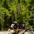 Some ladders have been added to the steeper sections.- Colvin and Blake