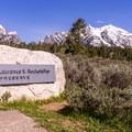The Rockefeller Preserve has a trailhead leading to Phelps Lake.- Moose-Teton Road Ponds