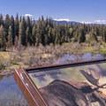 The main overlook on Moose-Teton Road.- Moose-Teton Road Ponds