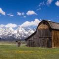The third barn on Mormon Row.- Mormon Row