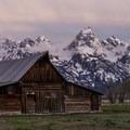 The Moulton Barn before sunrise- Mormon Row