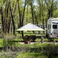 Gros Ventre Campground.- Gros Ventre Campground