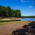 Main swimming area.- Chewalla Lake Recreation Area