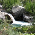 A swimming hole along the Bubbs Creek Trail in Kings Canyon National Park.- Bubbs Creek Trail