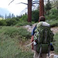 The Bubbs Creek Trail in Kings Canyon National Park.- Bubbs Creek Trail