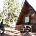 Shoshone Lake Patrol Cabin.- Lewis Lake to Shoshone Lake Loop