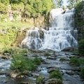 The view from the bottom of the falls.- Chittenango Falls State Park