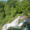 The overlook from the top of the falls.- Chittenango Falls State Park