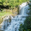 This is the view from the lookout about halfway down the trail to the bottom of the falls.- Chittenango Falls State Park