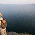 Yellowstone Lake.- Storm Point