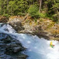 A sporty line down the bottom.- Ohanapecosh River: Hawt-Fire Park + Huck