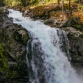 Silver Falls is a short walk below the take-out for Hawt Fire.- Ohanapecosh River: Hawt-Fire Park + Huck