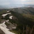 Looking northeast down specimen ridge.- Specimen Ridge Trail