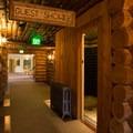 Many rooms use shared baths.- Old Faithful Inn