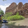 Taking a short break, you really will want to take your time so it doesnt go by too quickly.- San Rafael River: The Little Grand Canyon