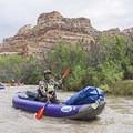 Floating the San Rafael River.- San Rafael River: The Little Grand Canyon