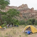 A great place to throw up some tents.- San Rafael River: The Little Grand Canyon