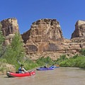 What a place... The Little Grand Canyon and the San Rafael River.- San Rafael River: The Little Grand Canyon