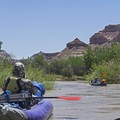 The Little Grand Canyon and the San Rafael River.- San Rafael River: The Little Grand Canyon