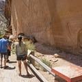 Buckhorn Wash pictographs nearby.- San Rafael River: The Little Grand Canyon