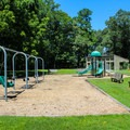 A playground near the visitor center.- York River State Park