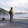 Back Basin.- Norris Geyser Basin
