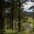 Backountry campsite OD2.- Firehole Meadows: Biscuit Basin to Freight Road