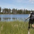 Goose Lake.- Firehole Meadows: Biscuit Basin to Freight Road