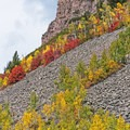 The fall colors are amazing.- Mirror Lake Scenic Highway