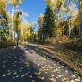 One of the private side roads.- Weber Canyon Scenic Drive