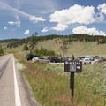 Blacktail Creek Trailhead.- Black Canyon of the Yellowstone