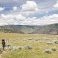 Blacktail Deer Plateau.- Black Canyon of the Yellowstone